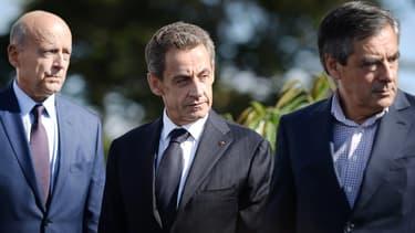 Alain Juppé, Nicolas Sarkozy et François Fillon s'affronteront en novembre prochain lors de la primaire de la droite.
