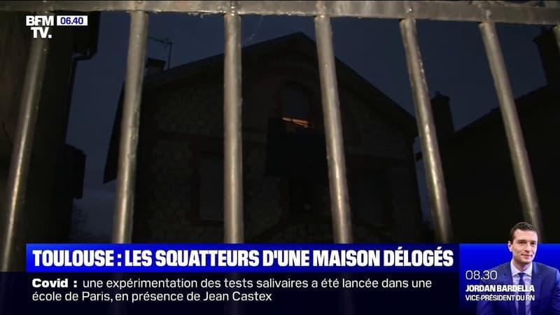 Toulouse: les squatteurs de la maison de Roland sont partis, après des négociations avec les jeunes du quartier