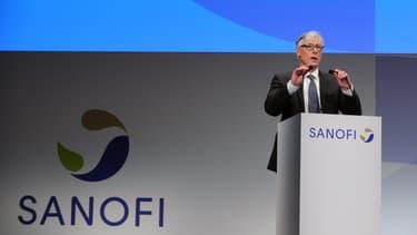 Le PDG de Sanofi Olivier Brandicourt