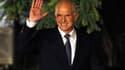 George Papandreou à son arrivée au palais présidentiel, mercredi, pour un entretien avec le président grec. Le Premier ministre a démissionné de ses fonctions, comme attendu, mais sans citer le nom de son successeur. Selon des sources politiques, le prési