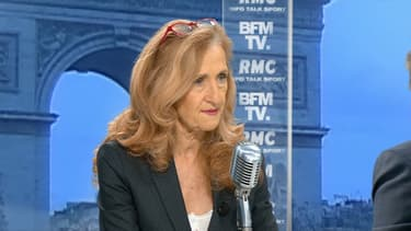 Nicole Belloubet vendredi sur BFMTV et RMC.