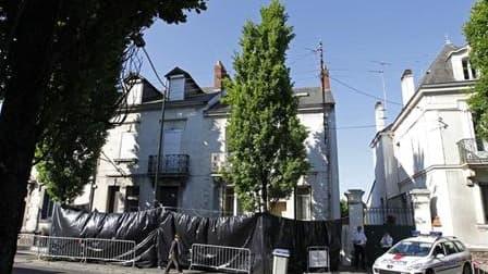 La maison de la famille Dupont de Ligonnès à Nantes où cinq cadavres ont été retrouvés sous la terrasse en avril dernier. Une vingtaine de proches et de membres de la famille de Xavier Dupont de Ligonnès ont été auditionnés mardi par la police dans le cad