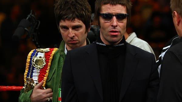 Noel et Liam Gallagher, ex-membres d'Oasis.
