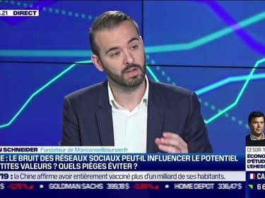 Johann Schneider (Monconseilboursier.fr) : Le bruit des réseaux sociaux peut-il influencer le potentiel des petites valeurs en Bourse ? Quels pièges éviter ? - 16/09