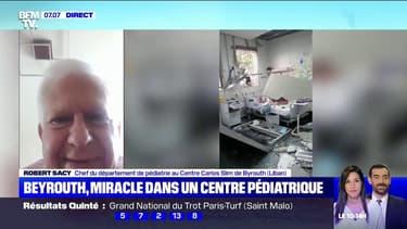 Situé à proximité du port de Beyrouth, cet hôpital a malgré tout pu protéger ses patients et ses bébés