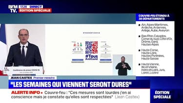 """Jean Castex annonce que l'application Tous Anti-Covid """"est disponible au téléchargement dès aujourd'hui"""""""