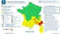 Carte Meteo France.