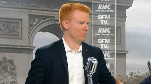 Adrien Quatennens vendredi matin sur BFMTV et RMC