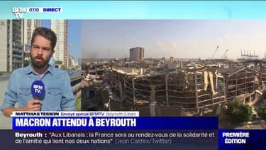 Emmanuel Macron attendu à la mi-journée à Beyrouth