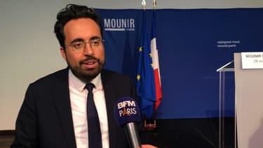 Mounir Mahjoubi est candidat à la mairie de Paris.