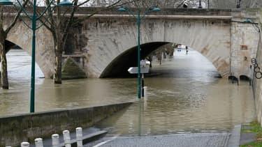 La crue de la Seine le 28 janvier 2018