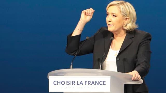 Marine Le Pen veut en fait revenir à l'ECU de 1979 à 1995