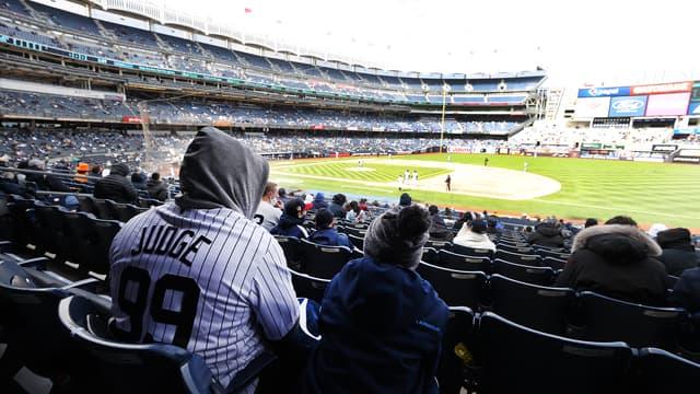 Les fans de retour au Yankee Stadium