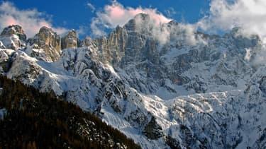 La région des Dolomites en Italie. Image d'illustration.