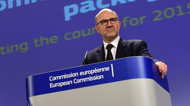 Pierre Moscovici, nouveau commissaire européen aux Finances, le 28 novembre 2014.
