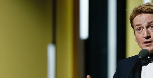 Benoît Magimel a reçu récemment le césar du Meilleur second rôle en 2016.