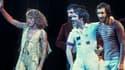 Le groupe The Who à Chicago en 1975.