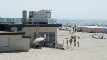 La plage de Berck-sur-Mer dans le Pas-de-Calais