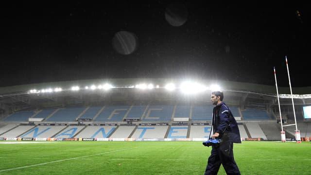 La Beaujoire a déjà reçu des matchs de rugby, à l'image de l'équipe de France en 2010