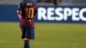Lionel Messi après Barça-Bayern