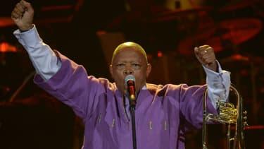 Le musicien sud-africain Hugh Masekela.