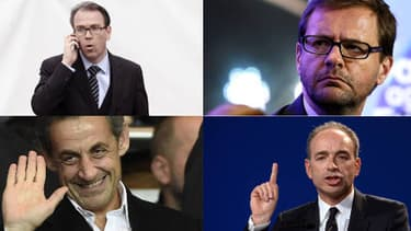 Lavrilleux, Copé, Lambert, Sarkozy, les protagonistes de l'affaire Bygmalion