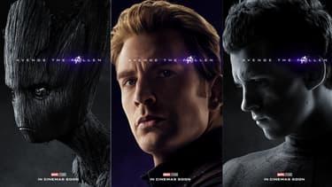 Des affiches Avengers Endgame