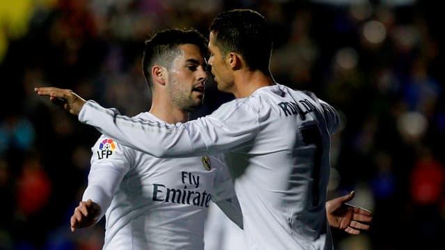 Isco et Cristiano Ronaldo