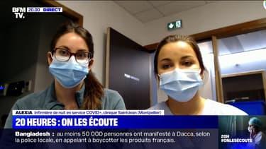 """20h, on les écoute: pour Myrtille et Alexia, infirmières à Montpellier, """"ça va être très compliqué si les gens ne respectent pas"""" le confinement"""