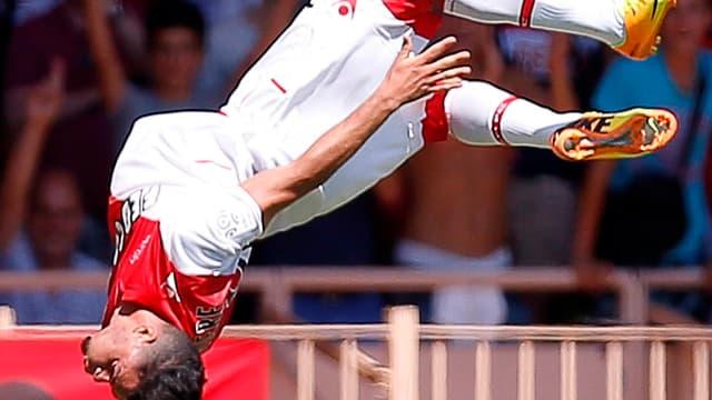 Emmanuel Rivière a inscrit un triplé face à Montpellier