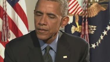 """Barack Obama ne """"regrette pas"""" de ne pas avoir envoyé de troupes au sol en Syrie."""
