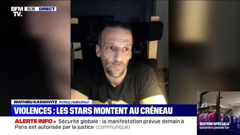 """Producteur violemment frappé: pour Mathieu Kassovitz, """"l'État doit condamner les policiers sans retenue"""""""