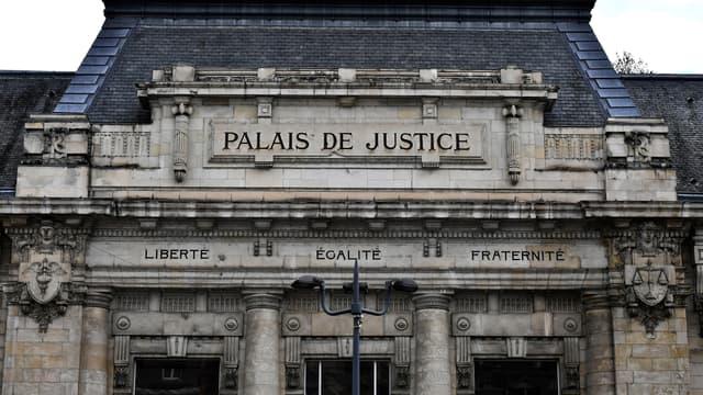 Palais de justice de Tulles, en novembre 2018 (PHOTO D'ILLUSTRATION).