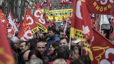 La CGT et FO défileront ensemble jeudi, contre la politique libérale du gouvernement.