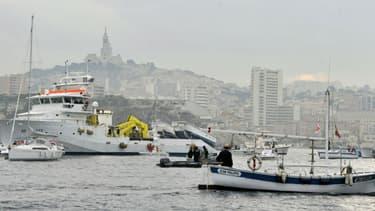 L'agression a eu lieu en plein centre de Marseille. Photo d'illustration
