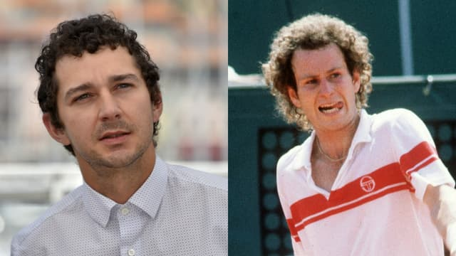 Shia LaBeouf incarnera le joueur de tennis John McEnroe