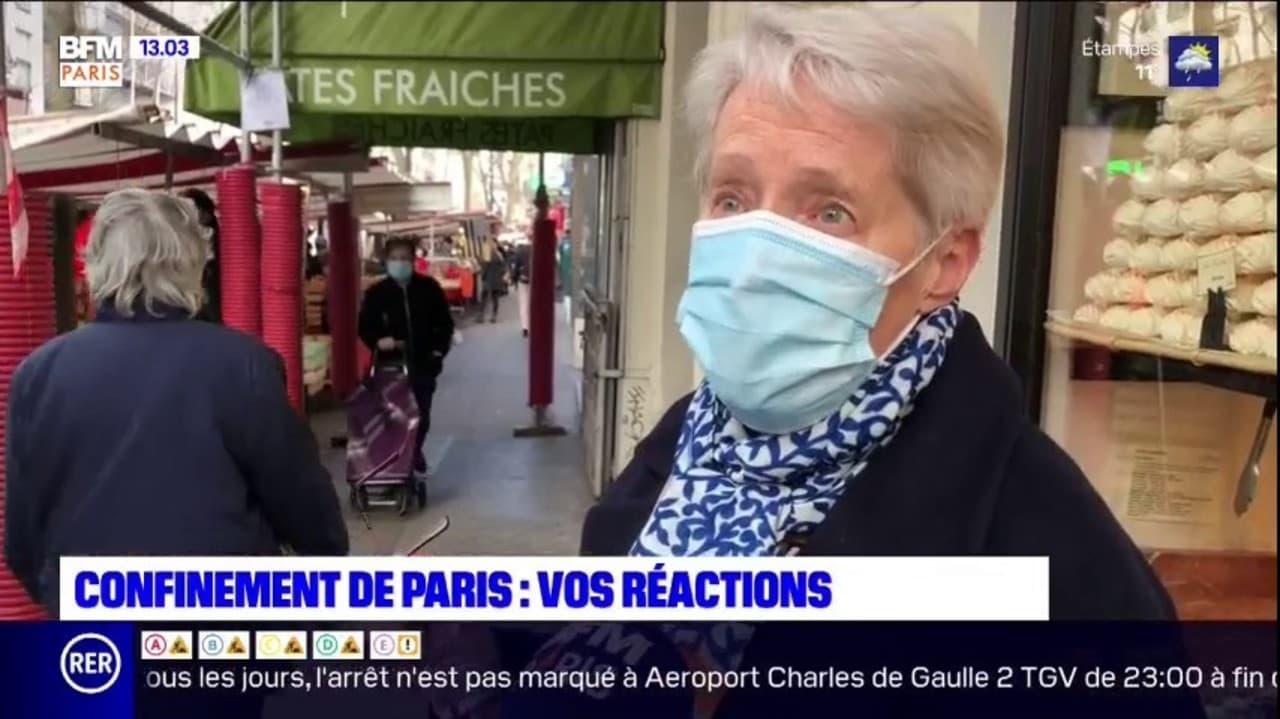 Confiner la capitale trois semaines, qu'en pensent les Parisiens ?