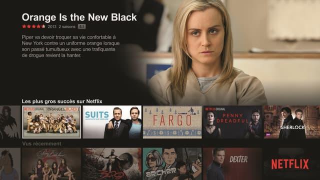 Les catalogues de Netflix et d'Amazon sont très majoritairement américains