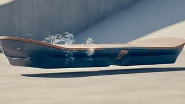 """Le Hoverboard, désormais une réalité avec """"Slide"""" ?"""
