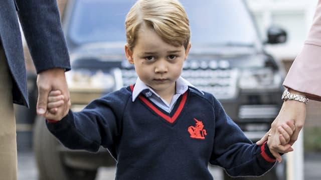 Le prince George en septembre 2017