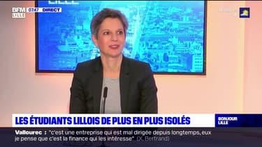 """""""6.000 étudiants nous ont contacté vers notre mail de solidarité"""" : Sandrine Rousseau, vice-présidente de l'Université de Lille invite les élèves en difficultés à se rapprocher des services de l'université"""
