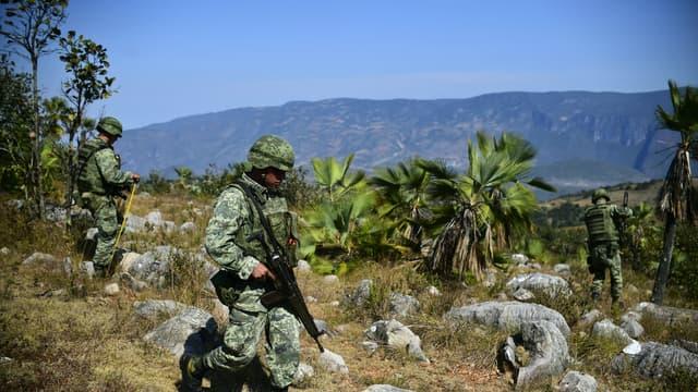 Les autorités de Guerrero, au Mexique, l'un des Etats les plus touchés par les violences et les cartels de drogue.