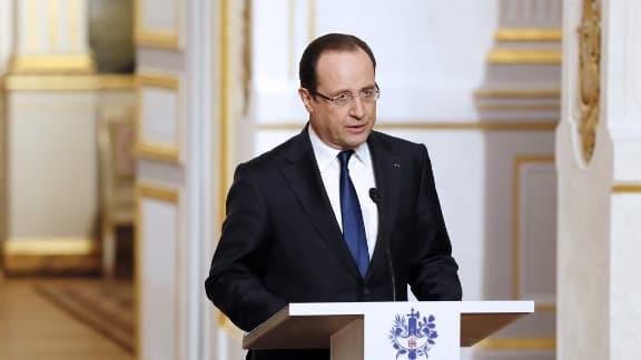 François Hollande, ici en avril 2013, se rendra dimanche en Israël.