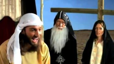 "Image extraite du film ""l'Innocence des musulmans"""