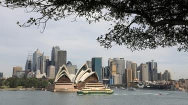 Vue générale de Sydney, principale ville d'Australie