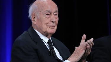 L'ancien président de la République Valéry Giscard D'Estaing, ici en juin 2019