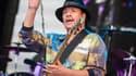Carlos Santana sur scène en juillet 2016 à Stuttgart.