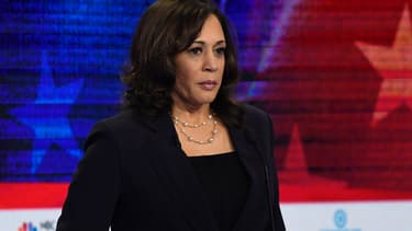 Kamala Harris lors du débat des primaires, le 27 juin 2019.