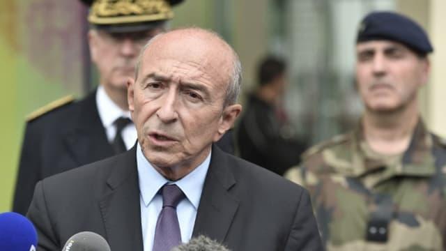 Le ministre de l'Intérieur Gérard Collomb le 09 août 2017 (image d'illustration).