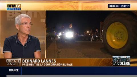 """Manifestation des agriculteurs à Paris: """"Le président de la FNSEA fait sa rentrée politique"""", Bernard Lannes"""